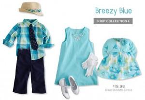 gymboree dressy blue