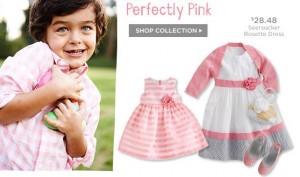gymboree dressy pink