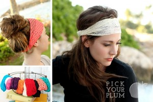 lace headband wraps 300x200 Wide Lace Headbands, 2 Pack for $2.99!