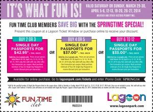 lagoon fun time club