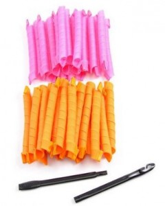 magic spiral hair curlers