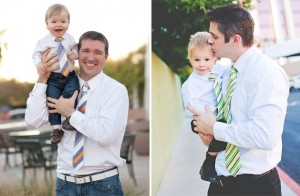 matching father son ties