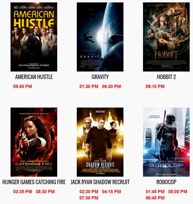 moviegrille shows
