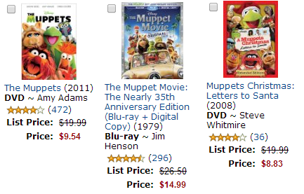 FREE Ticket to see Muppets Most Wanted with Movie Purchase