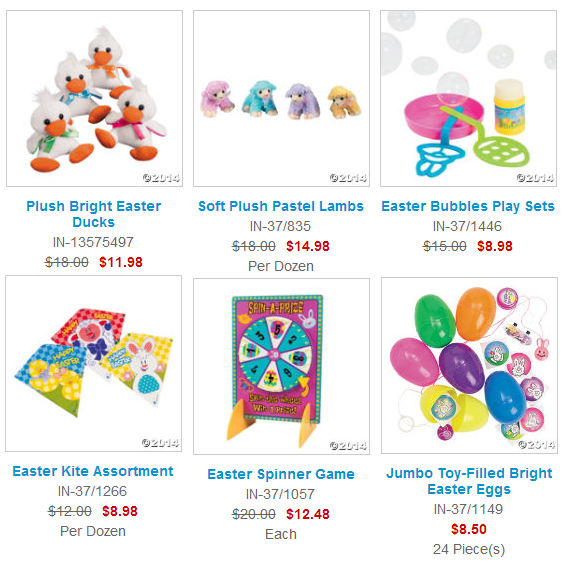 oriental trading easter