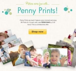 snapfish penny prints