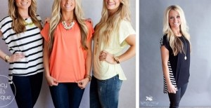 spring tops blowout sale
