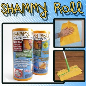 2 Pack Shammy Rolls - 40 Total Shammys