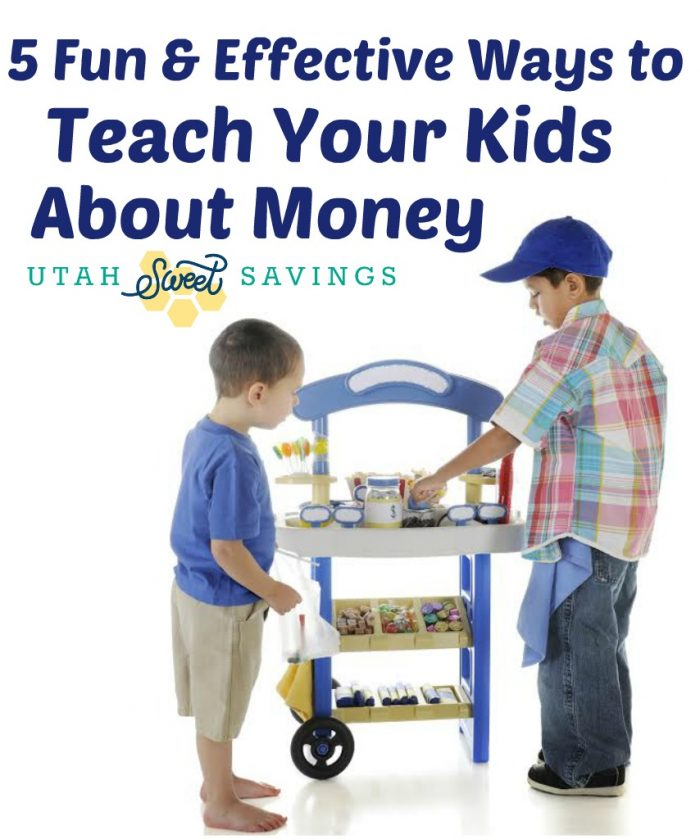 5 Fun & Effective WAys to Teach Your Kids About Money