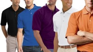 5-Pack Gildan Classic Pique Polo Shirts for Men