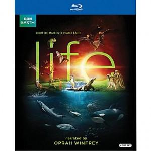 BBC Life 4-Disc Blu-ray Set Narrated by Oprah Winfrey