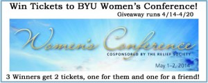 BYU Women's Conference Giveaway