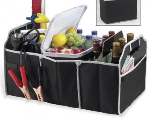 Collapsible Folding Flat Trunk Organizer