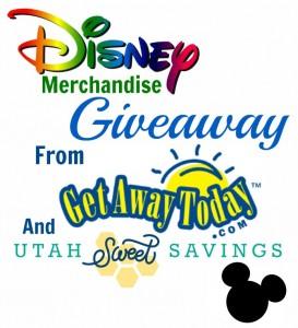 Disney Merchandise Giveaway