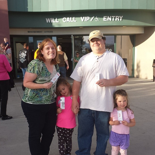 Family at The Grizzlies