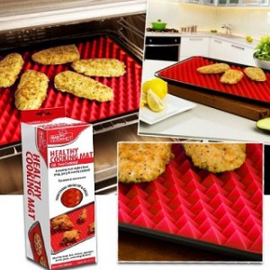 Silicone Pyramid Healthy Crispy Cooking Mat