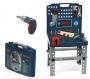 Theo Klein Bosch Tool Shop Foldable Workbench With Ixolino Screwdriver