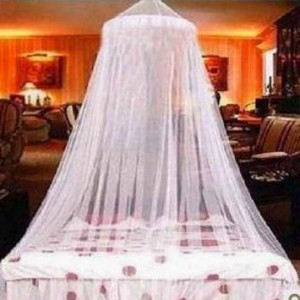 White Elegant Lace Bed Canopy 300x300 White Elegant Lace Bed Canopy for $4.99 Shipped!