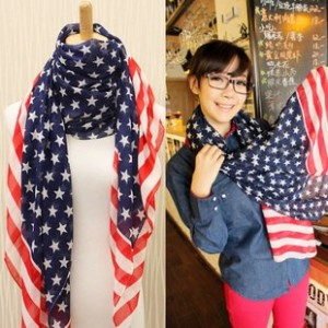 american flag scarf 300x300 American Flag Scarf for $2.50 Shipped!