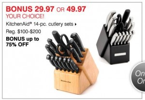 bonton culery kitchenaid knife sets
