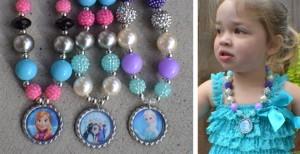 bubblegum frozen necklaces