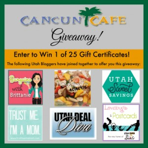 cancun cafe giveaway image
