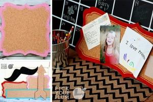 decorative cork boards