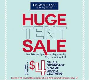 downeast huge tent sale