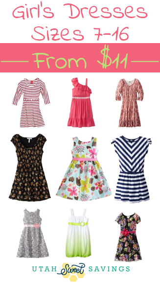 bf394185b676 Girl's Dresses, Sizes 7-16 for as low as $11.19! *Includes My ...