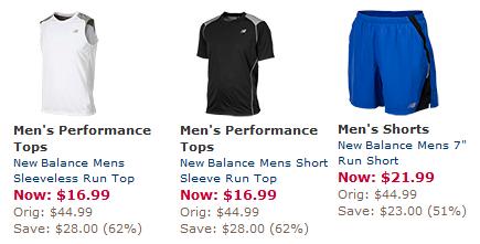 new balance mens clothing