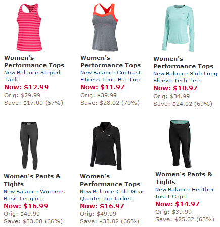 new balance apparel sale