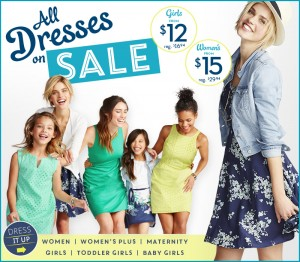 old navy dress sale