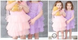 princess rosette dress