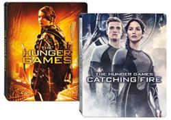 the hunger games catching fire steelbook