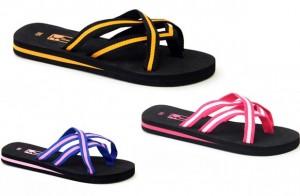 women's multistrap flip flops
