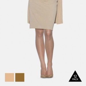 12-Pack L'eggs Everyday Pantyhose Hosiery