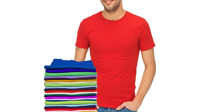 12 pack cotton crew neck shirts