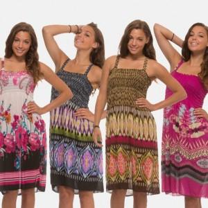 4 pack womens sundresses