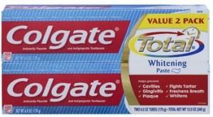 Colgate Total Plus Whitening Toothpaste 300x165 Colgate Total Plus Whitening Toothpaste, 6 oz for $1.98 Shipped!