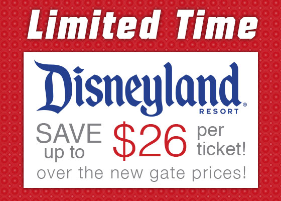 Disneyland discount tickets coupons