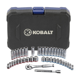 Kobalt 40 Piece Standard and Metric Mecanic's Tool Set