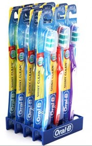 Oral B Shiny Clean Soft Toothbrushes 189x300 *HOT* 12 Pack: Oral B Shiny Clean Soft Toothbrushes for $9.99 Shipped!