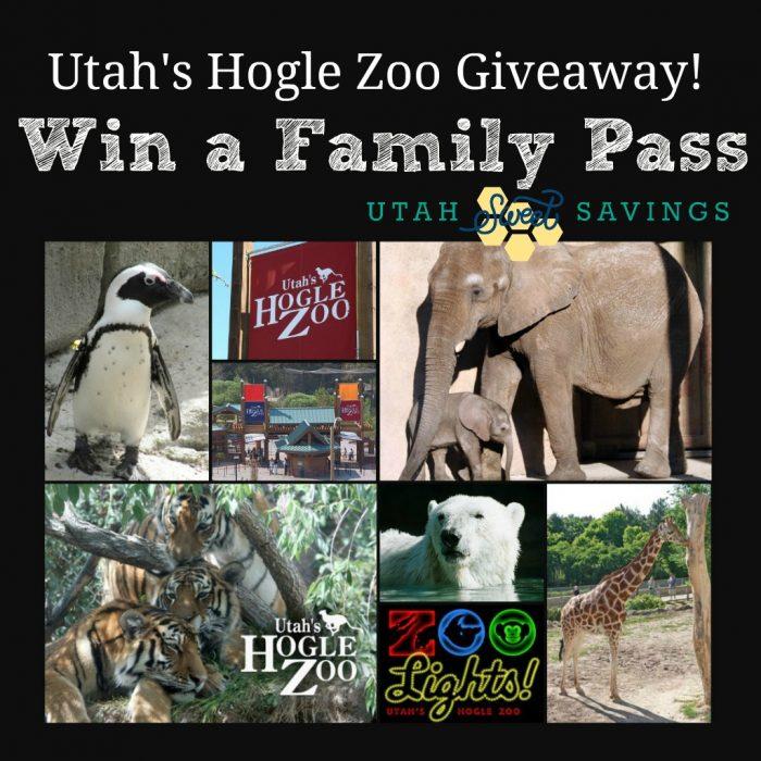 Utah Hogle Zoo Giveaway