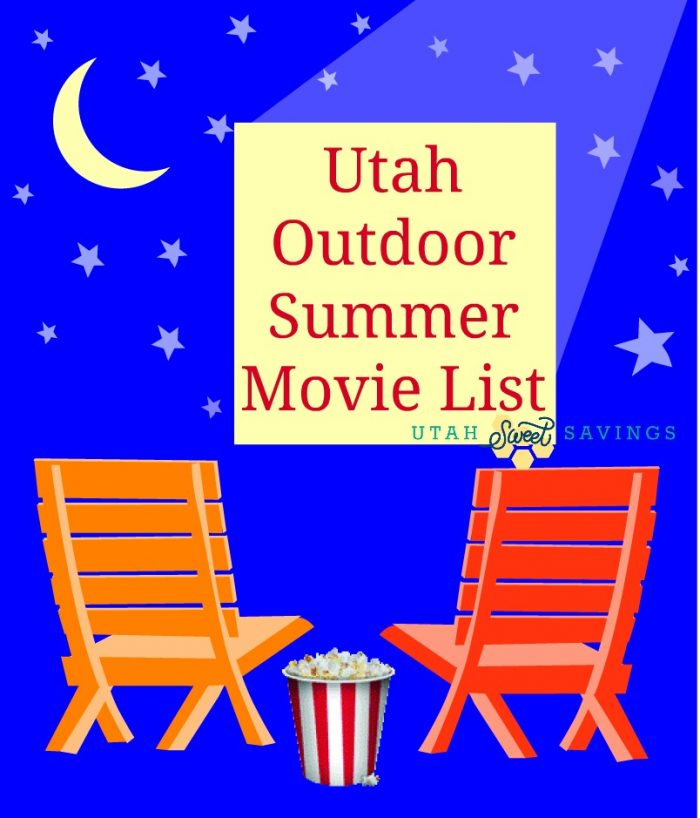 Utah Summer Outdoor Movie List