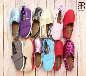 baby and kid slip on flats
