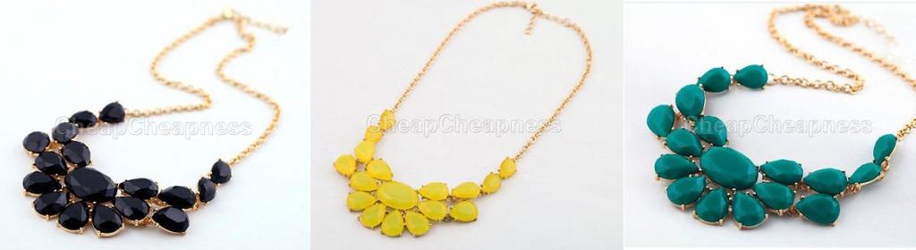 bib statement necklaces