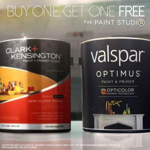buy 1 get 1 free gallon paint