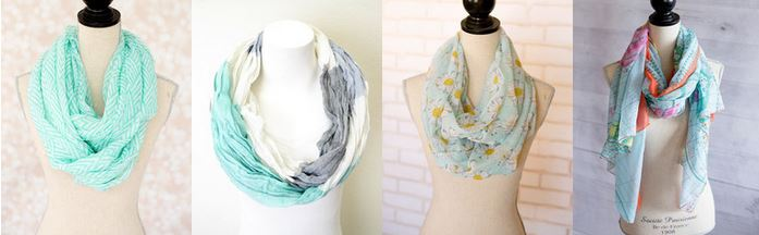 cents of style scarves Flash Sale: Scarves 50% Off! Starts at $7.97!