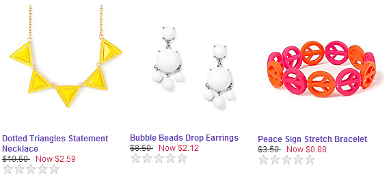 claires clearance Claires: 75% Off Clearance!