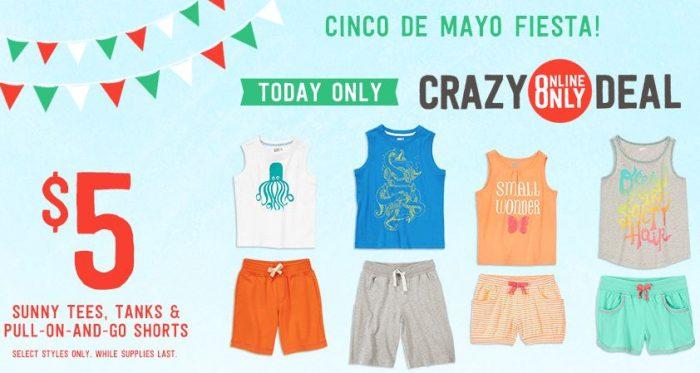 crazy 8 cinco de mayo sale